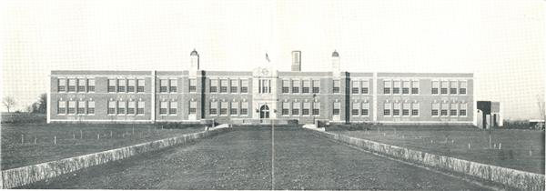 Picture of 1938 school building